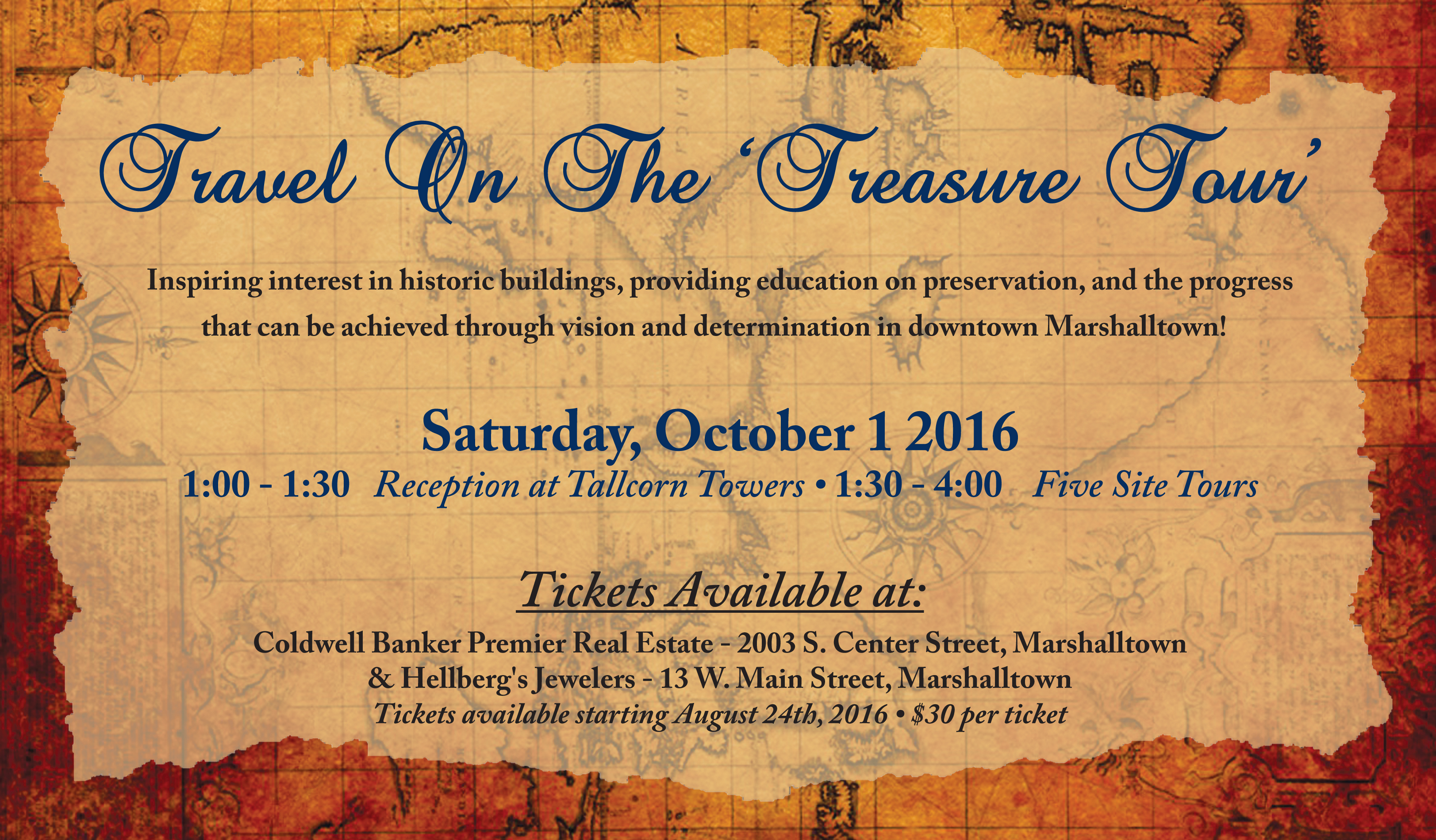 Treasure Tour Info
