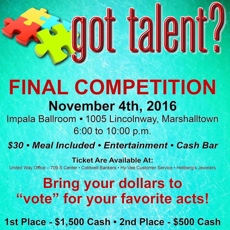 Got Talent Nov 4, 2016