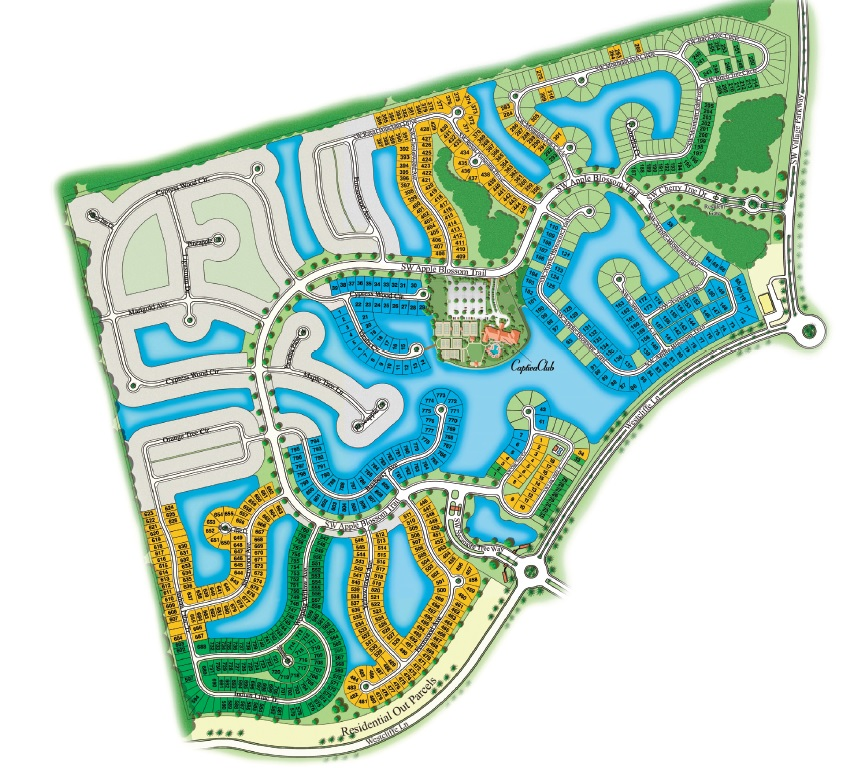 Map Of Port St Lucie Florida.New Construction In Port St Lucie Fl