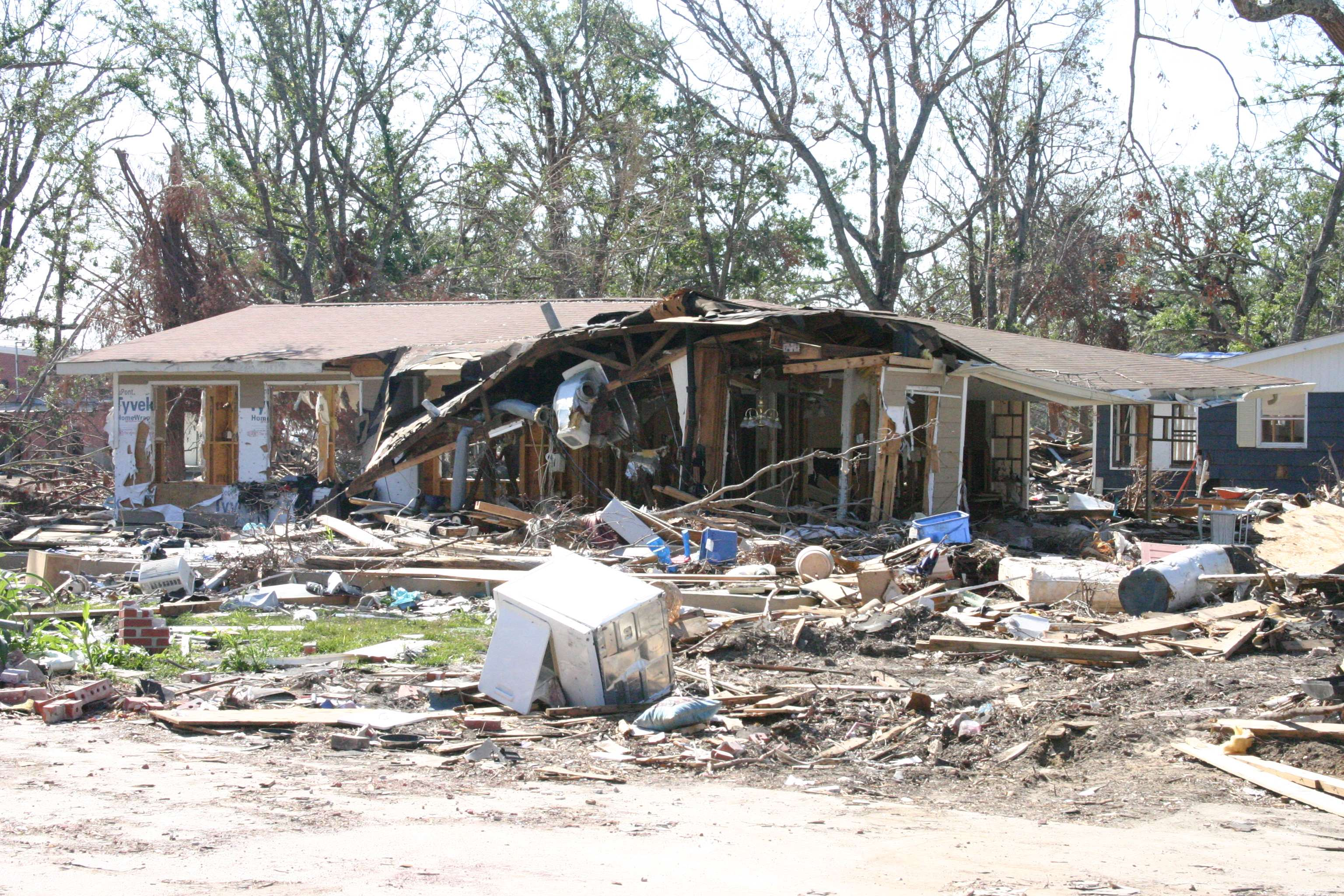 Hurricane Katrina Damage 3