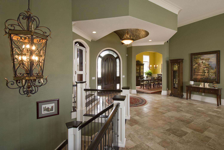 Tile Foyer