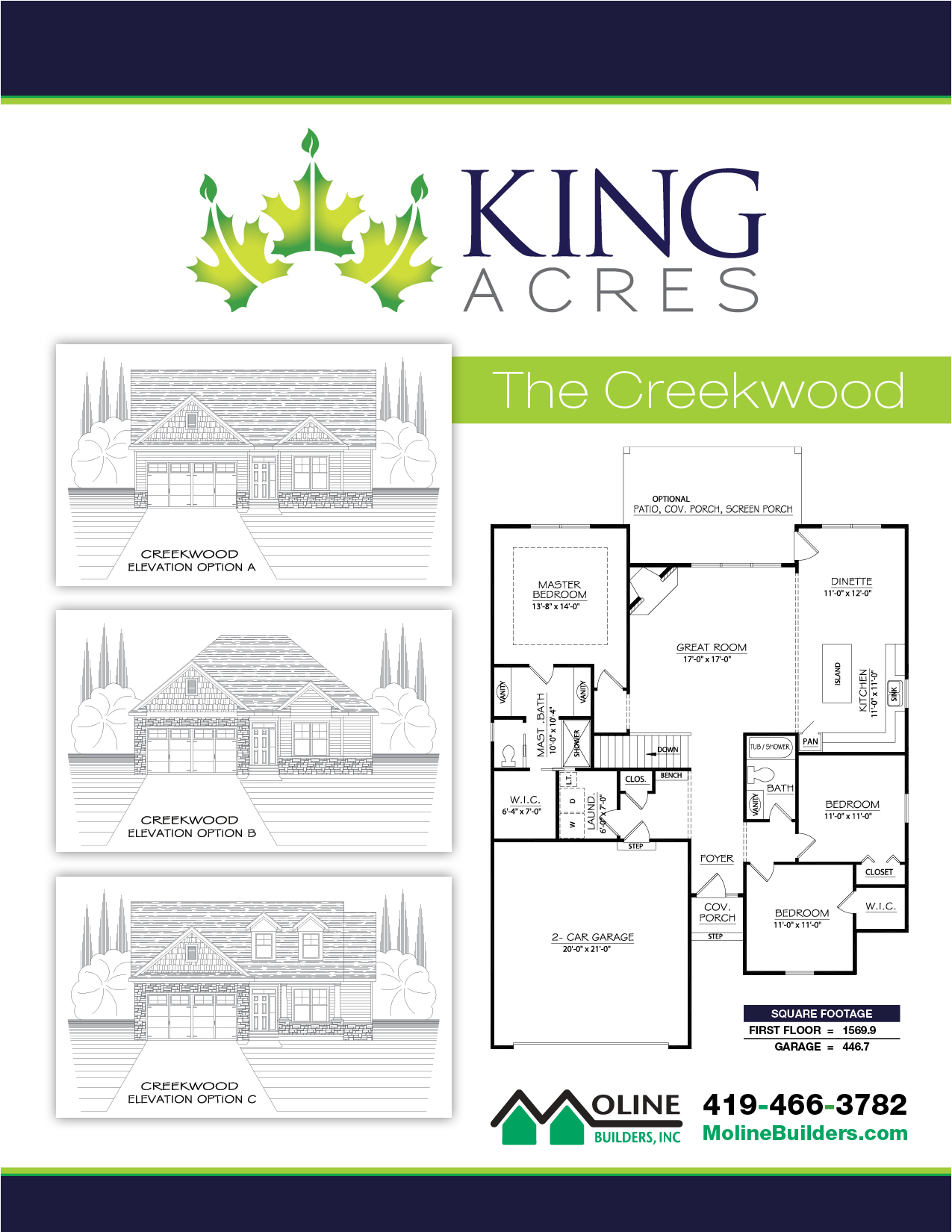 The Creekwood Floorplan