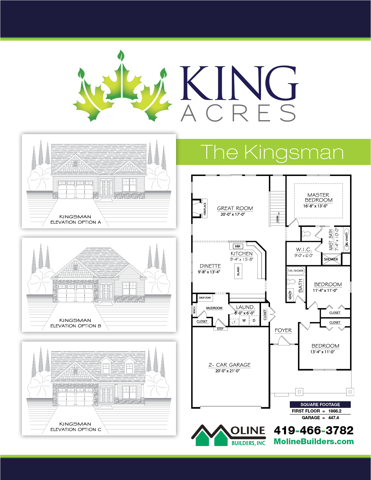 The Kingsman Floor Plan