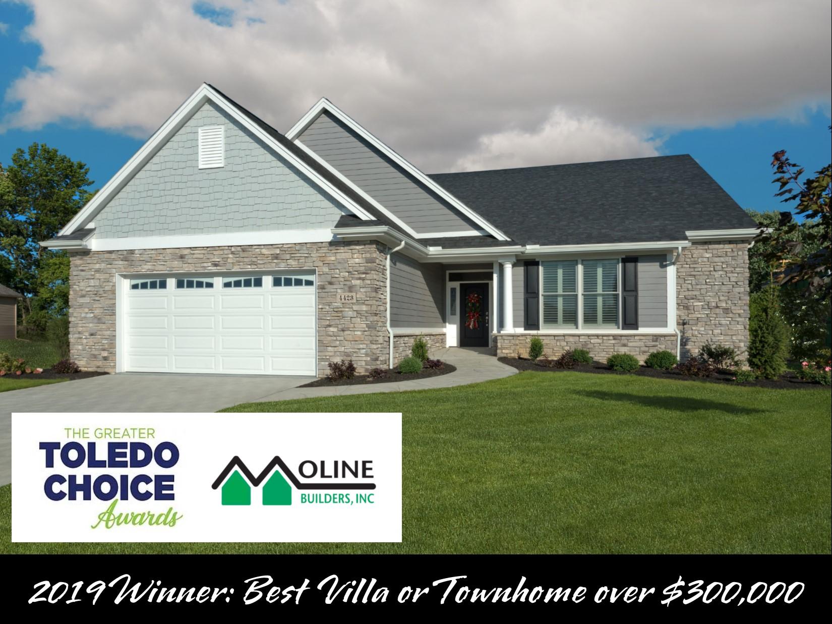 Toledo Builder Wins Best Villa