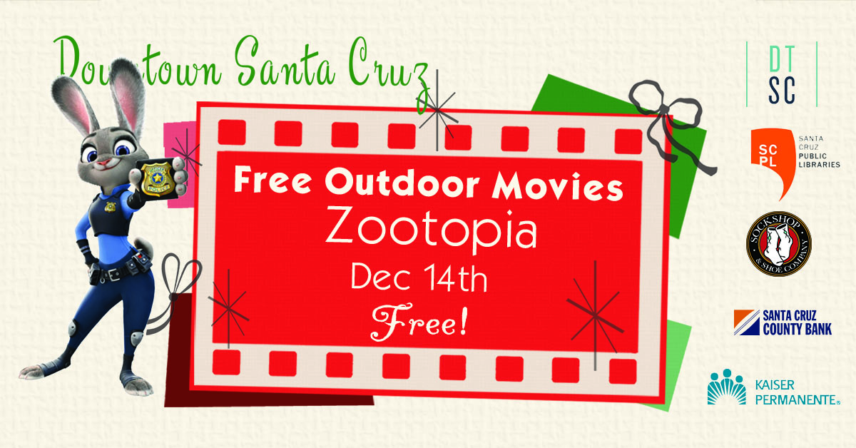 2018 Holidays movies ZOOTOPIA
