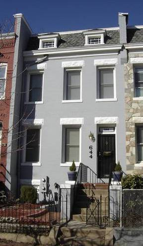 Washington DC Residential Closed: $775,000