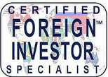 CERTIFIED FOREIGN INVESTOR SPECIALIST
