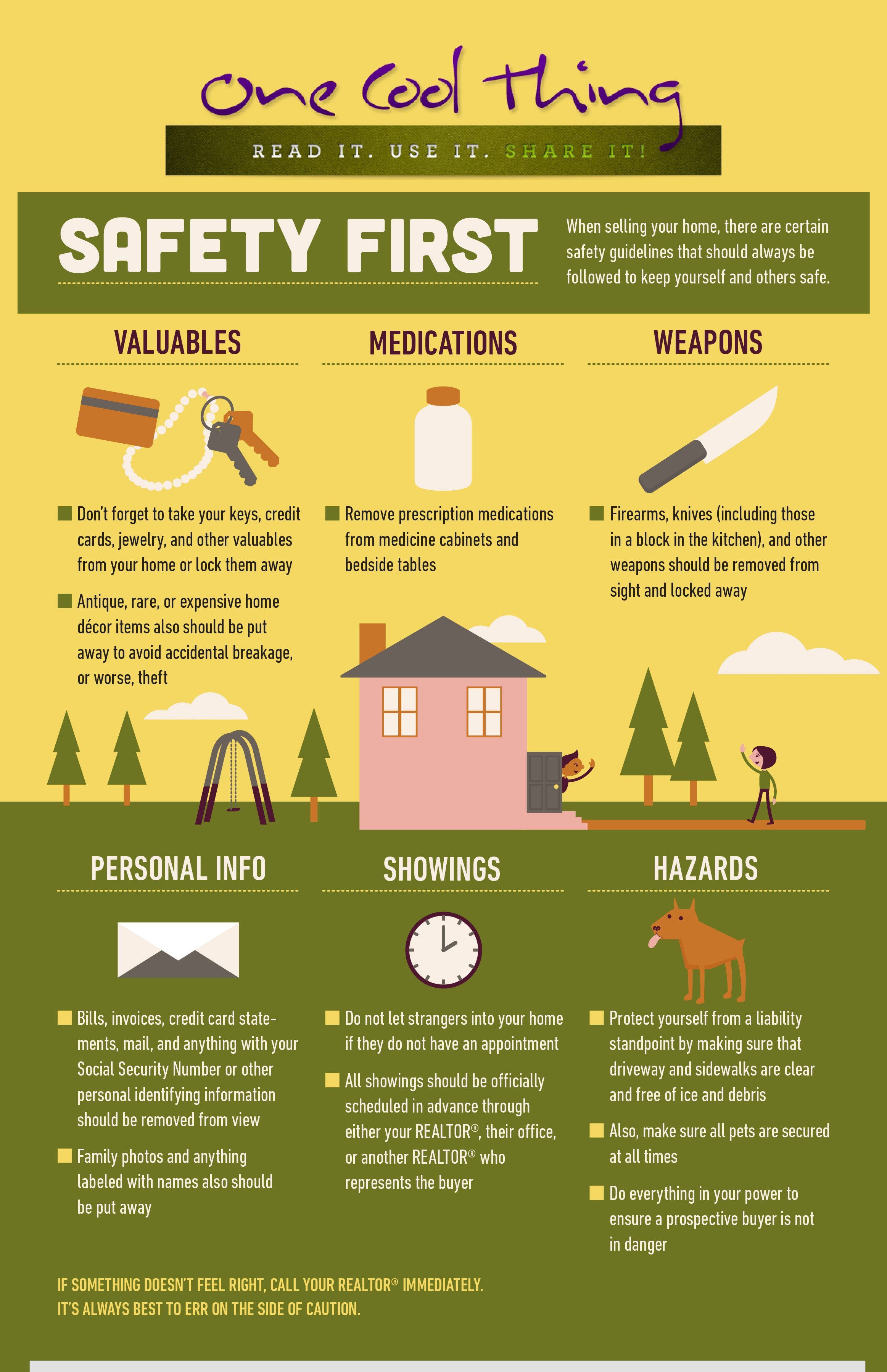 Safety Tips When Selling Your Home on first home, buying new home, tiny houses on wheels home,