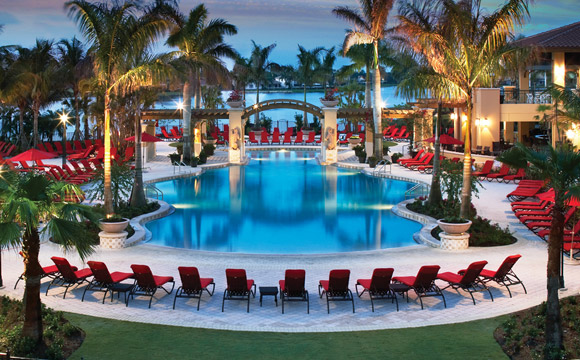 PGA National Homes in Palm Beach Gardens pool