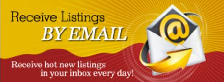 Sign up Now - FREE Automated Email Updates!