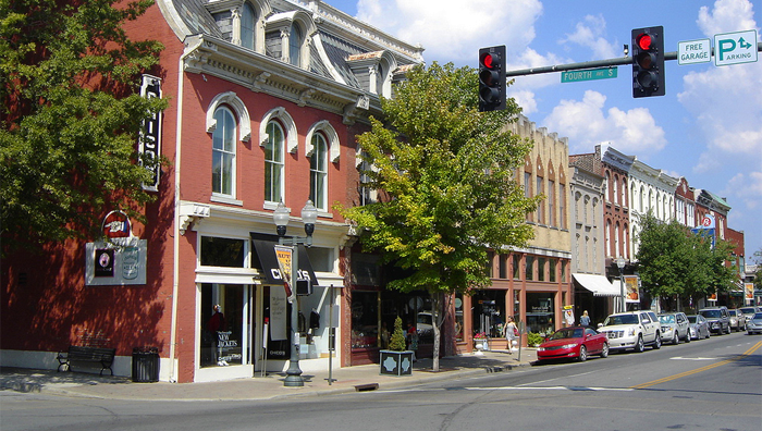 Downtown Franklin TN