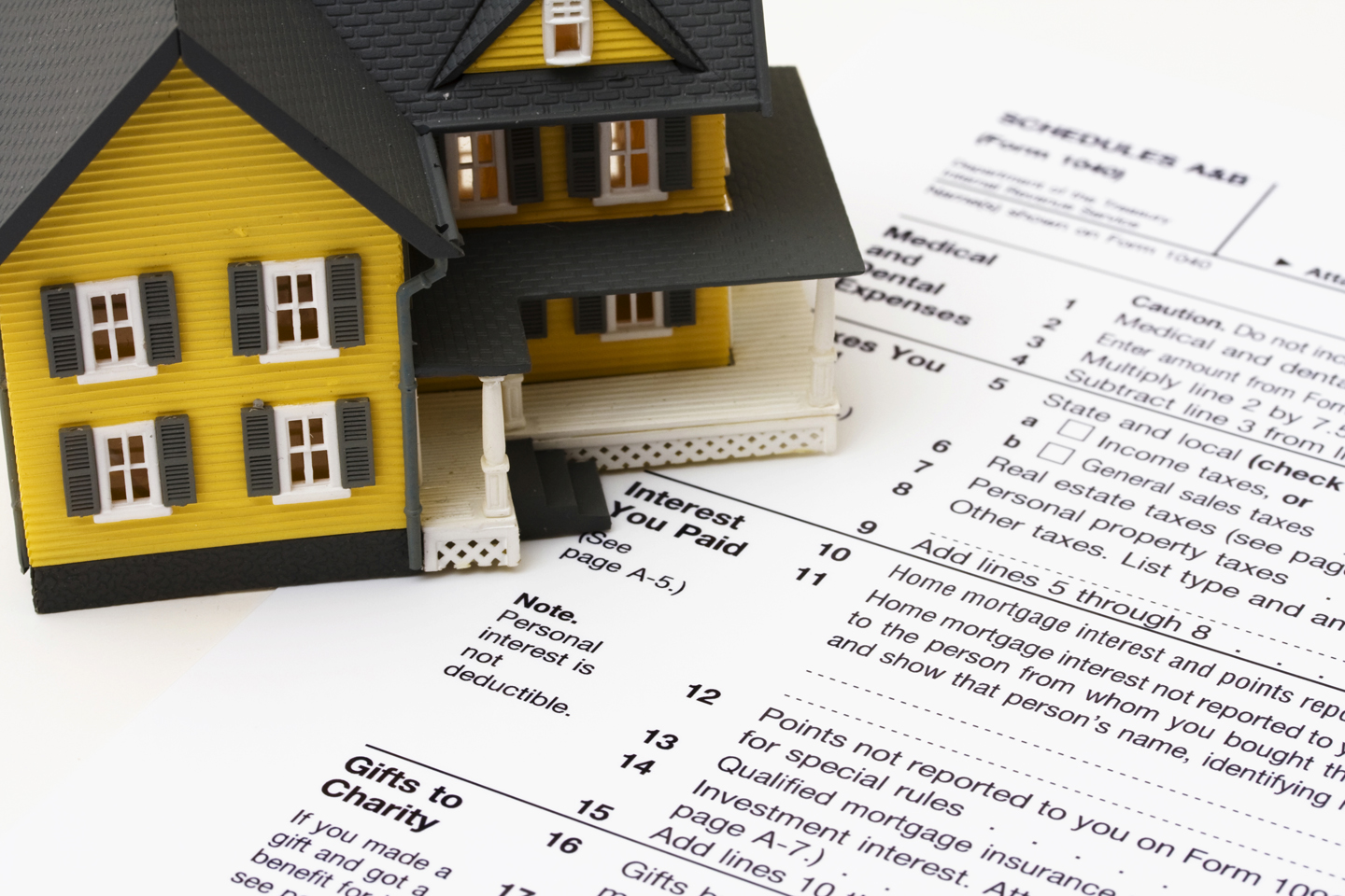 Tax Benefits of Home Ownership when buying a home in greater Nashville.