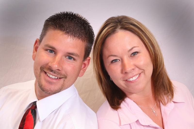 Platinum Integrity Real Estate Team Photo - Brent and Jen Newell