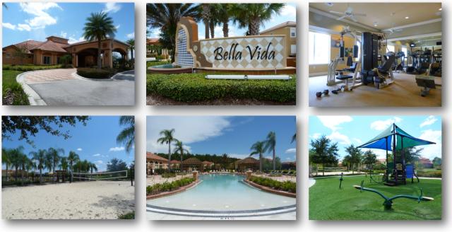 Images of Real Estate for Sale in Bella Vida - Kissimmee FL