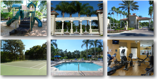 Images of Real Estate for Sale in Emerald Island Resort - Kissimmee FL