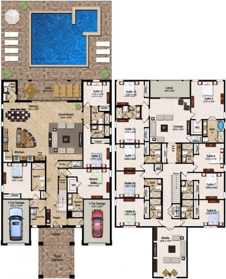 Encore club at reunion essex floor plan new for House of floors orlando florida