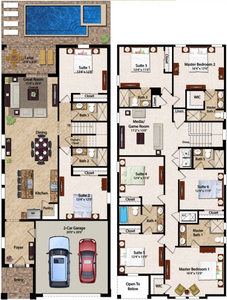 Encore Club At Reunion Madison Floor Plan New
