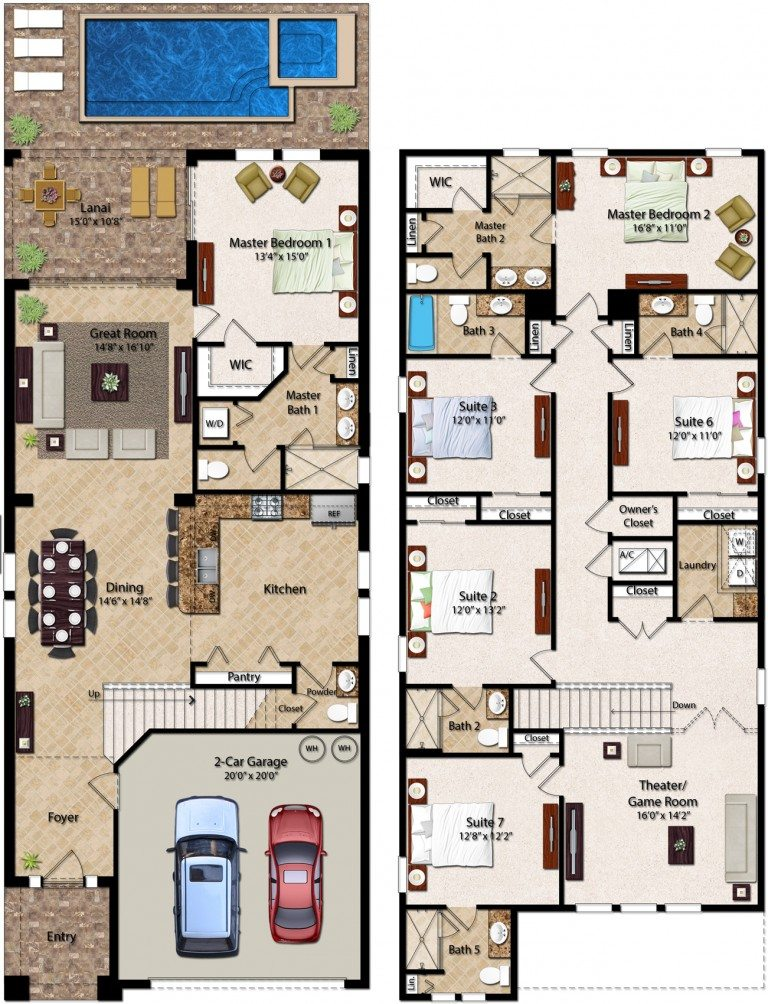 Encore Club At Reunion Stafford Floor Plan New