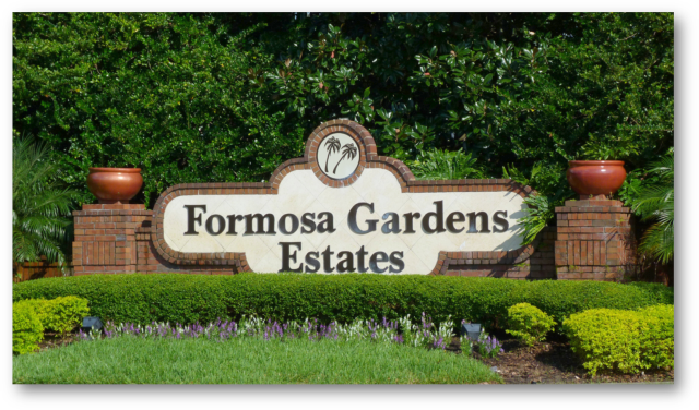 Images of Real Estate for Sale in Formosa Gardens - Kissimmee FL