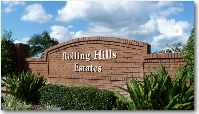 Images of Real Estate for Sale in Rolling Hills Estates Kissimmee FL