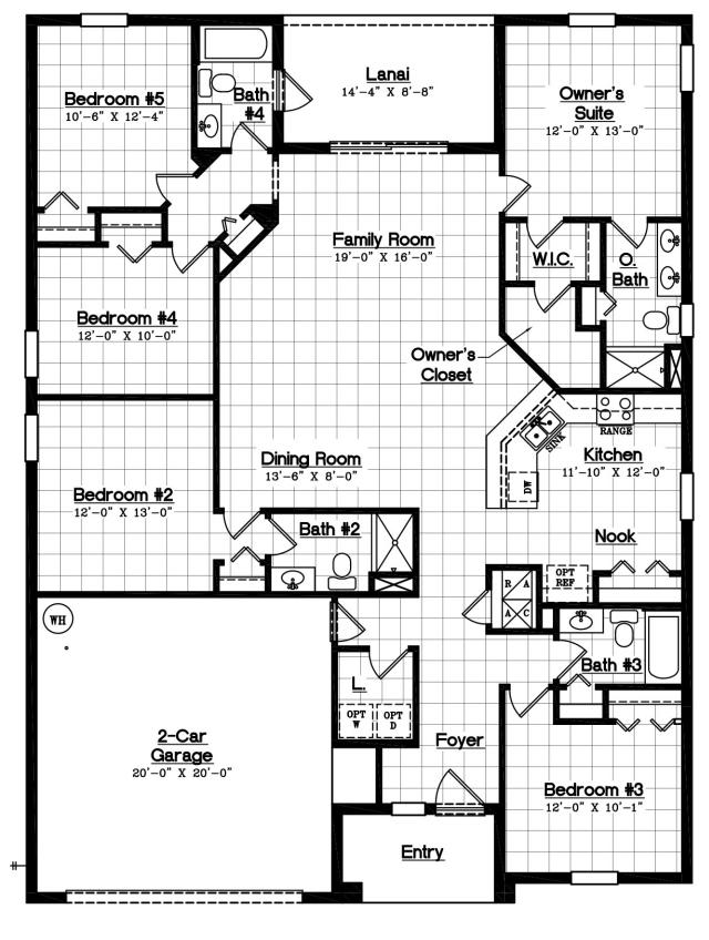 Solterra Resort D R Horton Crestview Floor Plan New