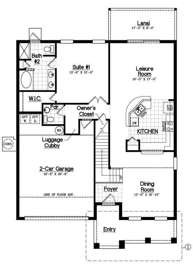 Solterra Resort D R Horton Bimini Ii Floor Plan New