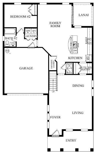 Solterra Resort D R Horton Seville Floor Plan New