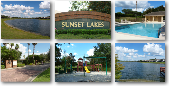 Images of Real Estate for Sale in Sunset Lakes Kissimmee FL