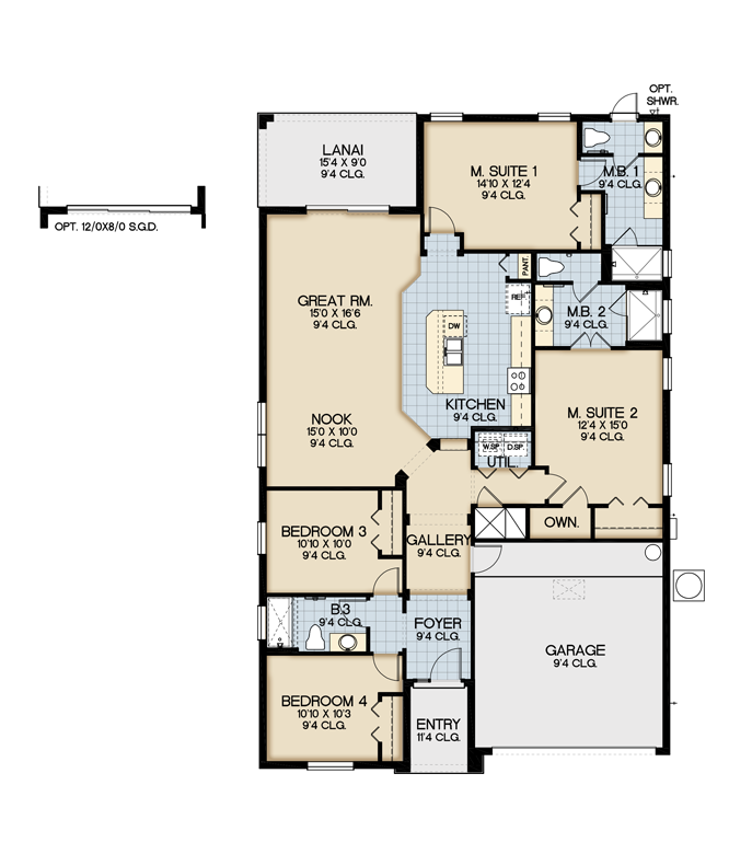 Sonoma resort claremont floor plan new construction for House of floors orlando florida