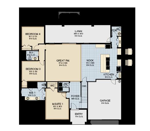 Sonoma Resort El Dorado Floor Plan New Construction