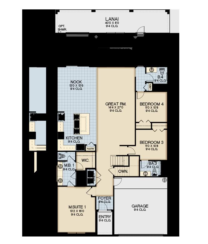 Sonoma Resort Santa Rosa Floor Plan New Construction
