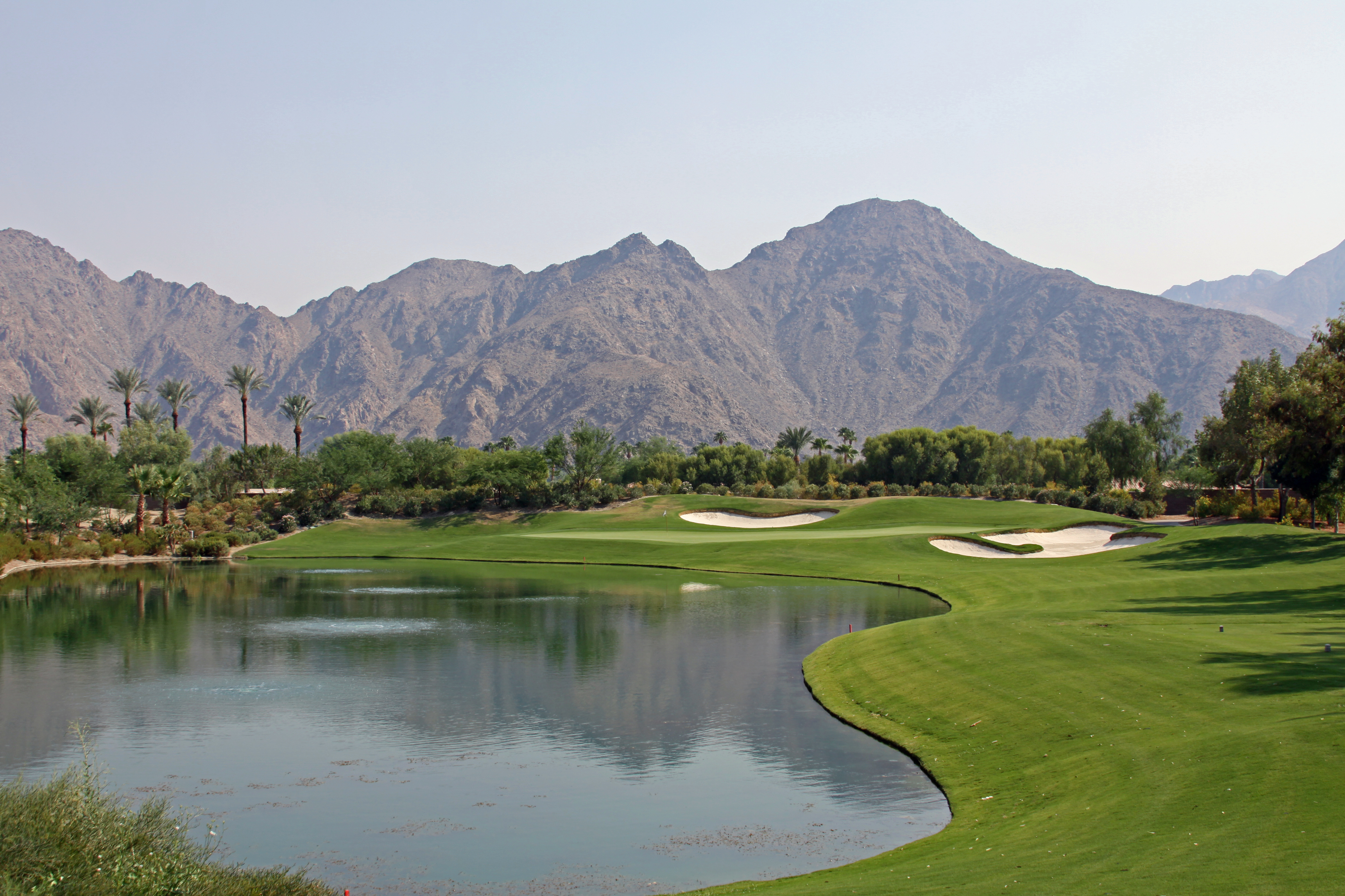 Indian Wells CA golf Course view