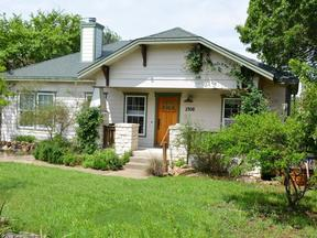 Austin TX Single Family Home Sold: $295,000