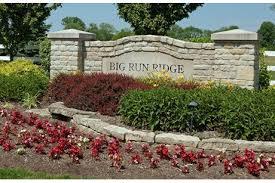 Entrance to Big Run Ridge image.