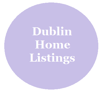 A circle linked to Dublin homes for sale page