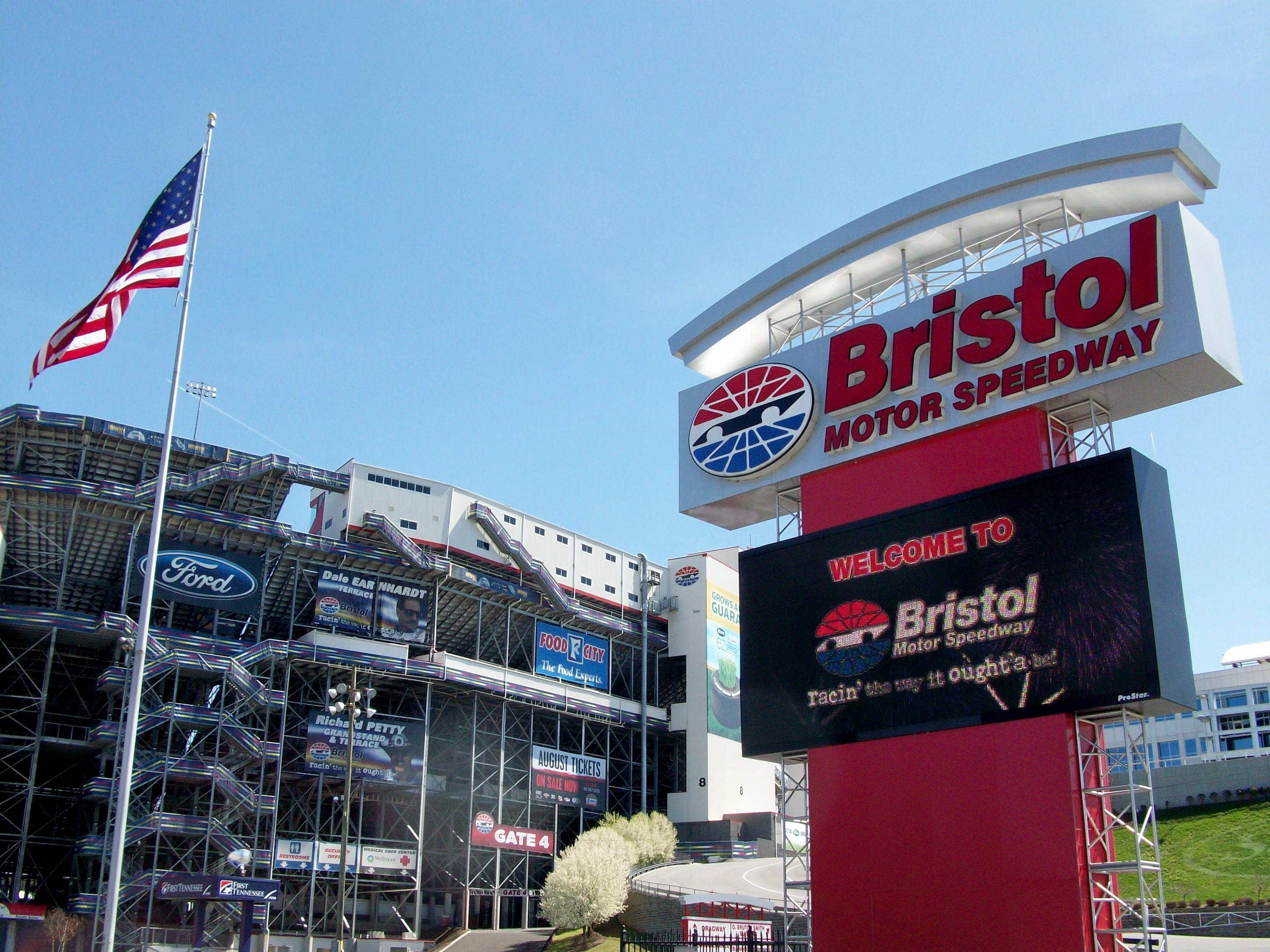 Bristol Motor Speedway!