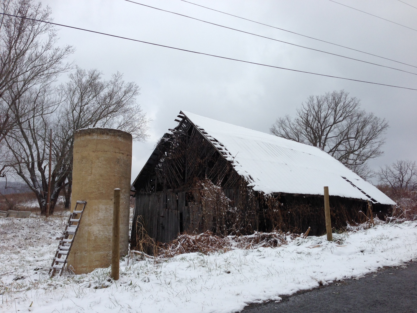Winter Barn!