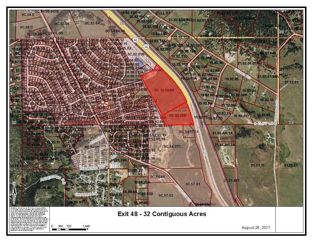 Exit 48 - 32 Continguous Acres