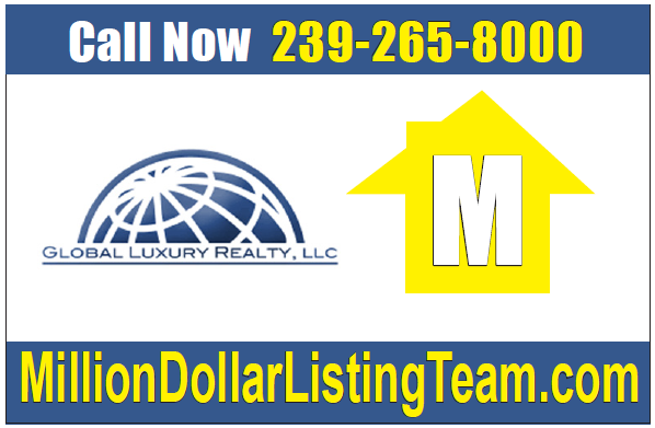 We Are Proud To Be Top Luxury Agents With Global Luxury Realty. Contact Us  At 239 265 8000.