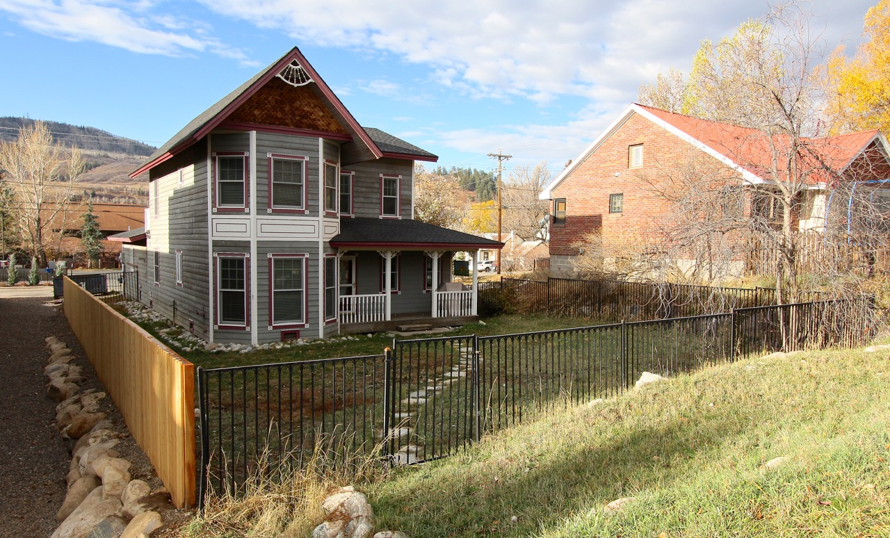 Steamboat Victorian style home for sale downtown