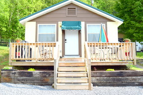 Hampton TN Single Family Home Vacation Rental: $95 Nightly Rental