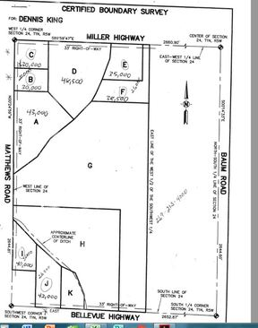 Charlotte MI Lots and Land Sold: $37,000