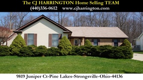 Strongsville OH Single Family Home Sold: $170,000