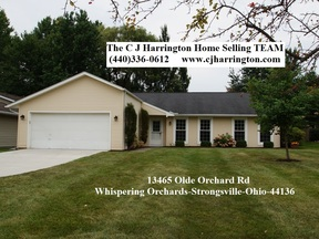 Strongsville OH Single Family Home Sold: $186,050