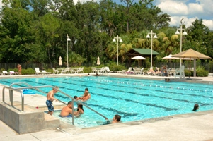 Celebration Florida features 5 swimming pools and lots of recreation
