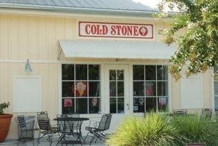 Cold Stone Creamery in Celebration Florida