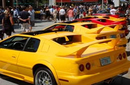 Exotic Car Festival is held every April in Celebration Florida