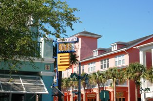Market Street Cafe in Celebration Florida