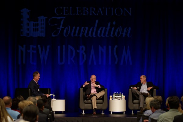 Michael Eisner and Peter Rummell discuss the history of Celebration, Florida
