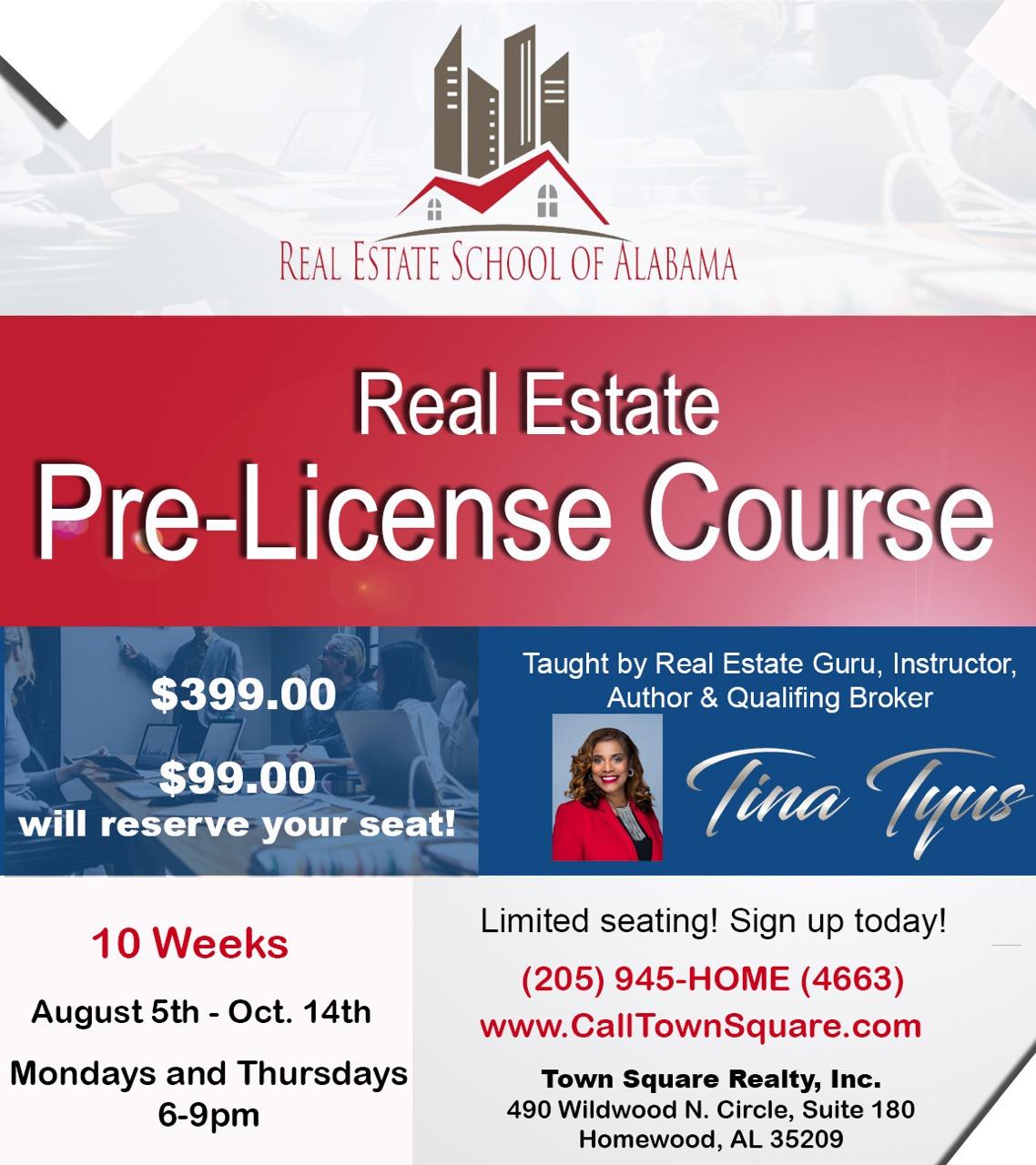 Real Estate School Live Classes Registration